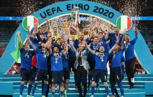 Thắng kịch tính ở loạt penalty, Italia vô địch Euro 2020!!!
