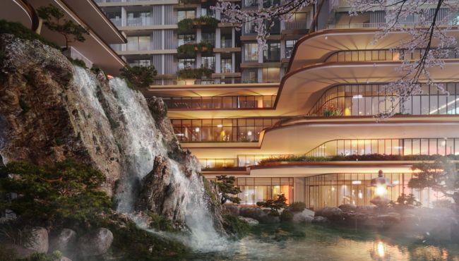 """Cận cảnh tổ hợp Onsen 1.000 tỷ trong Ecopark, phát triển bởi 3 'ông lớn"""" Nhật Bản"""
